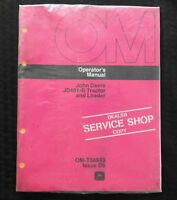 1976 JOHN DEERE 401 JD401-B TRACTOR AND LOADER OPERATORS MANUAL MINT SEALED