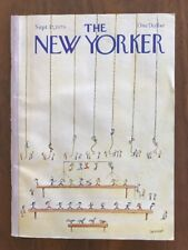 1979 September 17 The New Yorker Magazine Gym Class Sempe
