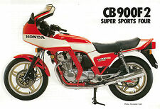 HONDA Poster Classic CB900 F2 CB900F2 1980 1981 1982 Suitable to  Frame