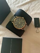 Marc Jacobs Watch Woman Rose Gold Taupe Leather