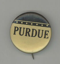 1940s PURDUE University FOOTBALL Pinback PIN Button BADGE Basketball SPORTS
