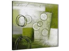 Lime Green Painting Bathroom Canvas Accessories - Abstract 1s434s - 49cm