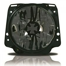 For VW Golf 2 Iron Cross Clear Glass Clear Black Headlight Lamp GTI 83-92