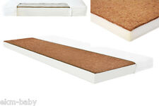 Kinderbettmatratze Kokos-Schaum 60x120 & 70x140 cm Kinder Baby Matratze ekmBABY