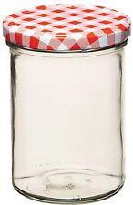 Kitchencraft NEW 440ml / 16oz VETRO CONSERVA MARMELLATA JAR & Coperchio a vite superiore