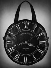 Restyle Black Clock Tas Bag Gothic Steampunk Fantasy