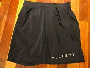 "Lululemon THE Short Unlined 9"" Inseam M or L? Alchemy Logo"