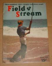 3/1939 Field & Stream Magazine   Surf Fishing Cover