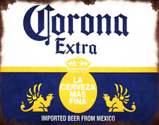 CORONA POSTER KITCHEN PUB BAR METAL SIGN RETRO PLAQUE GARAGE CAVE