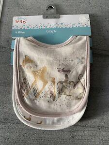 TU Disney Baby Bibs - Bambi & Thumper - Nothings better than a friend - 2 pack