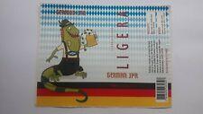 BRAZIL CRAFT BEER LABEL#  CERVEJA  BIER CRAFT BREWERY  LIGEIRA