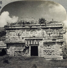 Keystone Stereoview of Mayan Ruins, Chichen Itza, Mexico From RARE 1200 Card Set