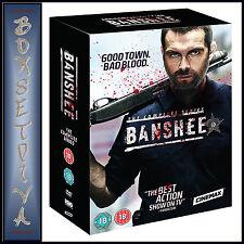 BANSHEE - COMPLETE SEASONS 1 2 3 & 4 *BRAND NEW DVD BOXSET**