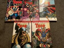 Thor Visionaries: Walter Simonson vol. 1 2 3 4 5 TPB Lot (Marvel, 2007-09) 1-5