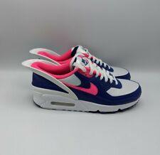Nike Air Max 90 Flyease Shoes Hyper Pink Deep Royal Blue Men's 8/ Womens 9.5