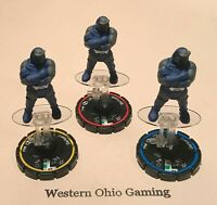Heroclix Darkseid #043 #044 #045 REV SET USED from DC Icons Booster