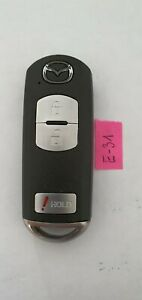 MAZDA USA car 3 Button SMART Key Fob 315 mhz SKE11A-03  tp 4D 63  (E-31)