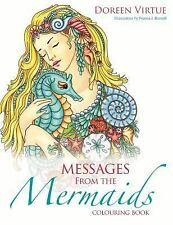 MESSAGES FROM THE MERMAIDS COLORING BOOK - VIRTUE, DOREEN/ BURNELL, NORMA J. - N