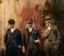 "The PEAKY BLINDERS PICTURE CANVAS WALL ART ""20X30"""