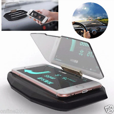 Universal Car GPS Navigation Through Projection HUD Head Up Display Phone Holder