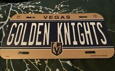Las Vegas Golden Knights NHL WinCraft Team Colors Plastic License Plate Cover