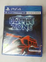 Battlezone PS4 Playstation 4 VR Game Brand New Factory Sealed FAST FREE SHIPMENT