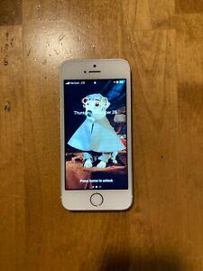 Apple iPhone SE - 128GB - Silver (Verizon) A1662 (CDMA + GSM)