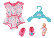 Zapf Creation Baby Born Shorty Pyjama mit Clogs (Rosa)