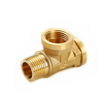 """3 Way Brass Pipe Fitting Connector 1/2"""" BSP Female X Female X Male adapters"""