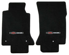 LLOYD Classic Loop™ Black FLOOR MATS with logos 2001-2004 Chevrolet Corvette Z06