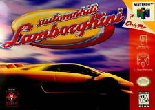 AUTOMOBILI LAMBORGHINI 64 *RARE* NINTENDO 64 GAME *NEW* AUS EXPRESS