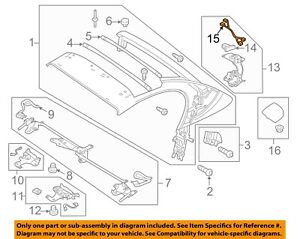 AUDI OEM 11-12 R8 Convertible Top-Switch 427898943