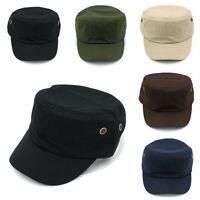 Men Women Army Cadet Military Patrol Cap Hat Driving Summer Baseball Adjustable