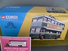 1/50 Corgi Nottingham City Transport Daybrook Karrier W Trolleybus Set 34701