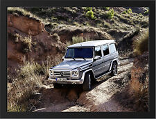 2013 MERCEDES BENZ G CLASS OFFROAD NEW A3 FRAMED PHOTOGRAPHIC PRINT POSTER