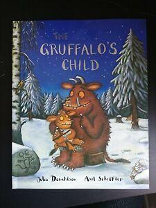 The Grufallo's Child by Julia Donaldson Axel Scheffler Book