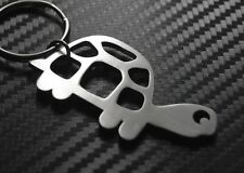 Tortue Terrapin tortue Coquille Lente Porte-clé porte-clé Acier Cadeau