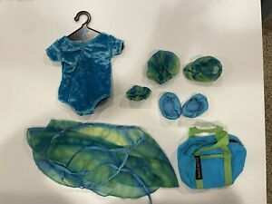 American Girl Turquoise Gymnastics outfit