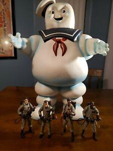 4x 1.6/'/' Ghostbusters Series 1 Egon Louis Raymond Marshmallow Mini Figures Toy
