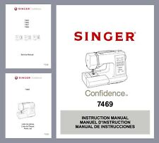 SINGER Confidence 7469(Q) Instruction manual or Service & Parts * CD or Download