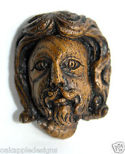 Medieval Misericord Carving  Lancaster Priory Jesus Caricature Plantaganet Gift