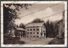 TRENTO BORGO VALSUGANA 04 SELLA - HOTEL ALBERGO Cartolina viaggiata 1941