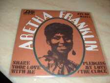 """ARETHA FRANKLIN  """" SHARE YOUR LOVE WITH ME """" ITALY'69"""