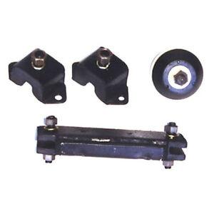 ENGINE & TRANS MOUNT KIT WILLYS JEEP 134 4 CYL MB CJ2A CJ3A CJ3B CJ5 CJ6