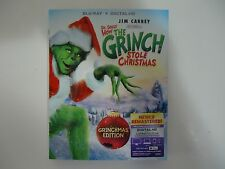 How the Grinch Stole Christmas (Blu-ray Disc, 2015) New w/slipcover