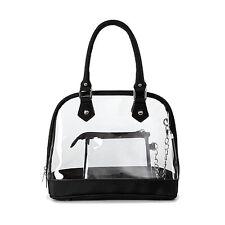 See Through Clear Handbag