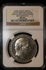 1927 D Germany / Weimar. 5 Mark. NGC Graded MS-64