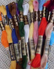 10 x DMC Stickgarn Handarbeit Kreuzstich freie Farbwahl