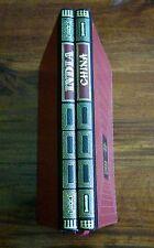 Lote 2 libros: India y China, Raymonde de Gans, Círculo Amigos Historia 1974