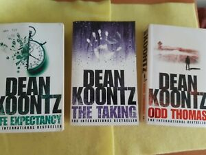 Dean Koontz Paperback Bundle, 3 Fiction Books